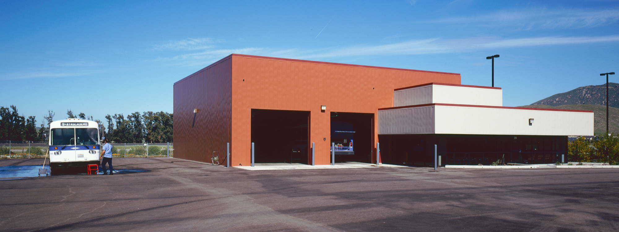 Bus Maintenance Facility Building Contractor and Builder - JW Design & Construction