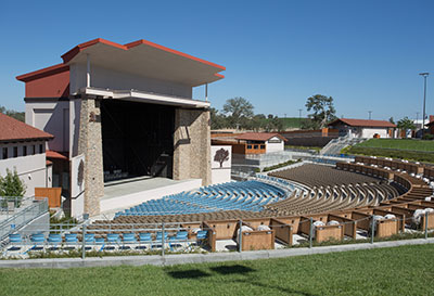 Paso Robles Winery Contractor - Vina Robles Amphitheater Construction - JW Design & Construction