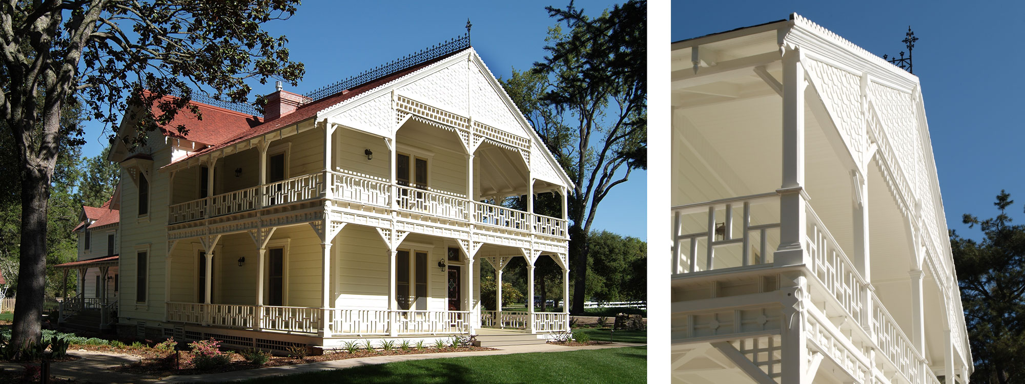 Victorian Home Restoration - Tasting Room Contractor - JW Design & Construction