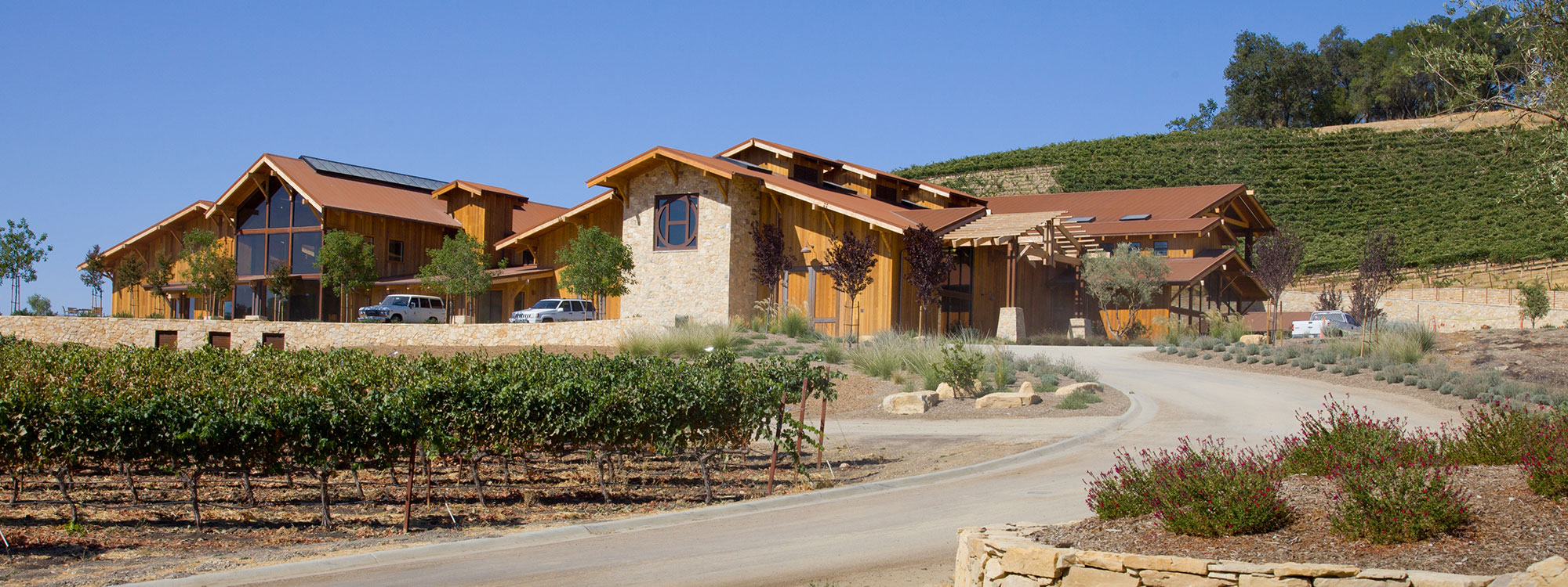 Paso Robles Contractor - Winery Construction Crew - JW Design & Construction